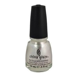 China Glaze Platinum Pearl 0.5-ounce Nail Polish
