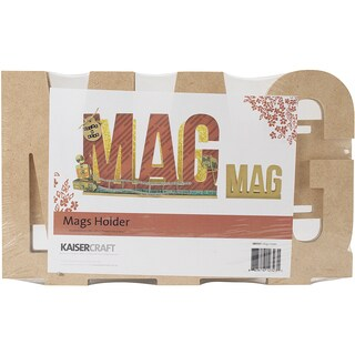 """Beyond The Page MDF Mag Holder-11.5""""X3.25""""X7"""""""
