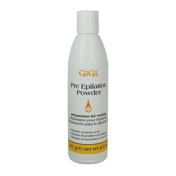 Gigi Lotions Pre-Epilation 4.5-ounce Dusting Powder