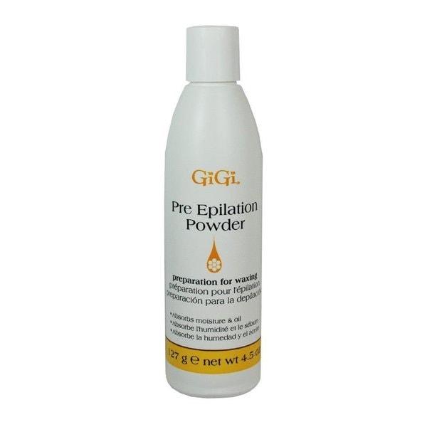 Gigi Lotions Pre-Epilation 4.5-ounce Dusting Powder