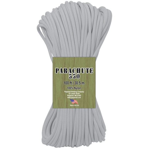 Parachute Cord 4mm X 100'-Glow In The Dark