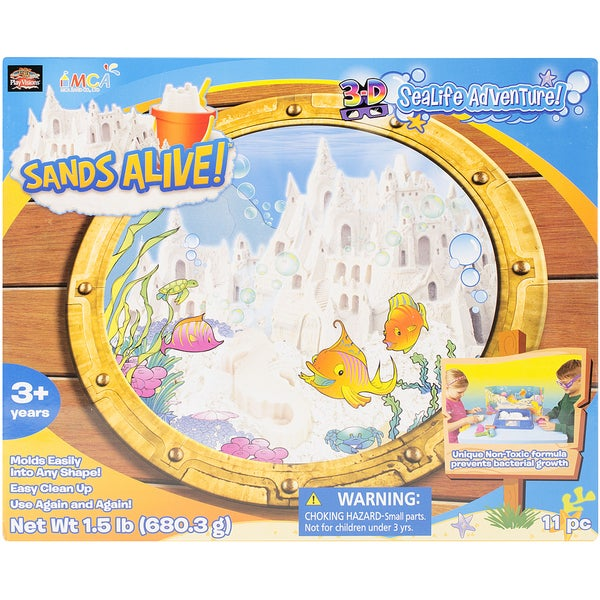 Sands Alive 3D Sealife Adventure Set