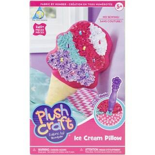 PlushCraft (R) Ice Cream Pillow Kit-Ice Cream Pillow