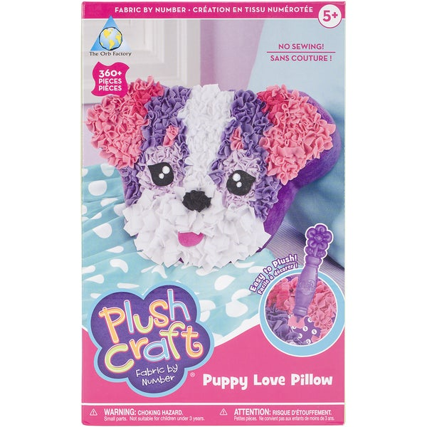 PlushCraft (R) Puppy Love Pillow Kit-Puppy Love Pillow