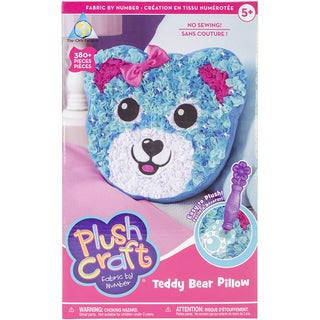 PlushCraft (R) Teddy Bear Pillow Kit-Teddy Bear Pillow