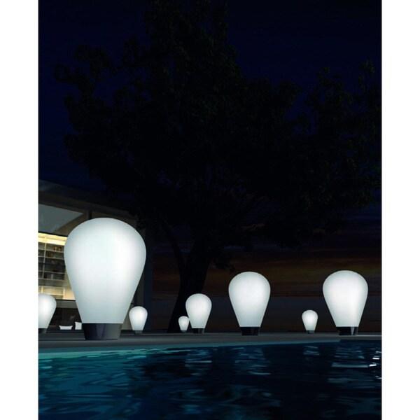 Illuminated Wireless Bulb Floor Lamp