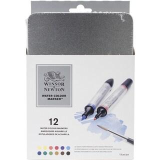 Winsor & Newton Artist Watercolor Marker Set 12/Pkg