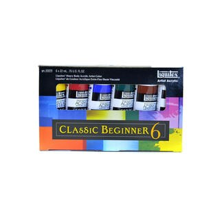 Liquitex Heavy Body Acrylic Classic Beginner Set-6/Pkg