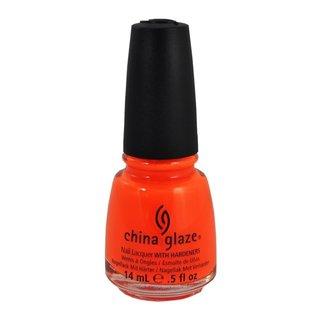 China Glaze Wow Factor Orange Knockout