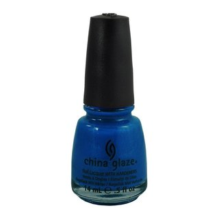 China Glaze Ink Blue Sparrow 0.5-ounce Nail Polish