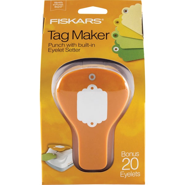 Fiskar Tag Maker Punch-Scallop
