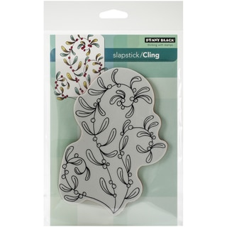 "Penny Black Cling Rubber Stamp 5""X7.5"" Sheet-Sprightly"