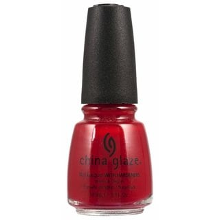 China Glaze Paint the Town Red 0.5-ounce Nail Polish