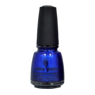 China Glaze Eyes like Sapphires 0.5-ounce Nail Polish