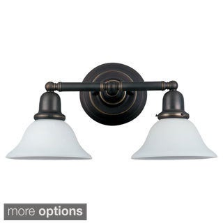 Seagull Lighting Two-light Sussex Wall/ Bath Sconce