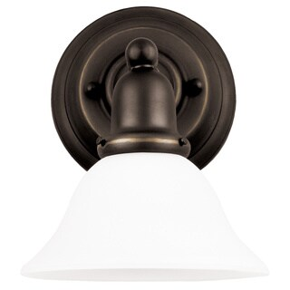 Sea Gull Sussex 1-light Heirloom Bronze Wall/ Bath Sconce