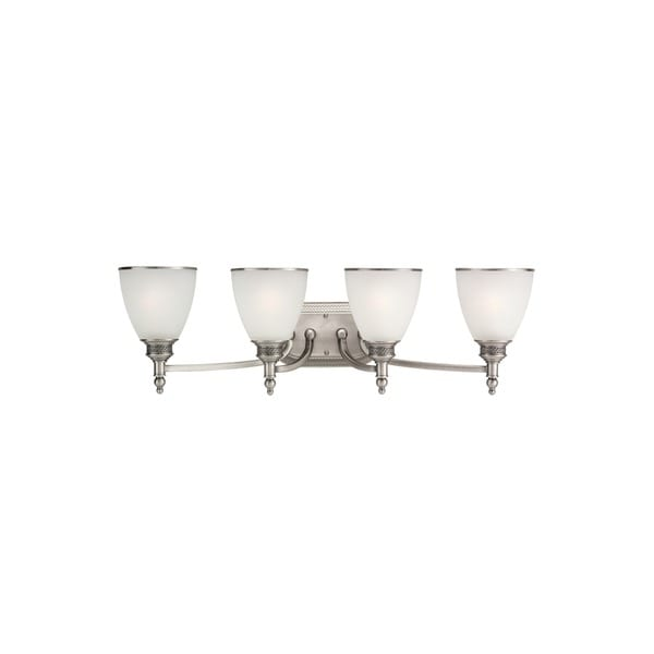 4-light Bathroom Wall Fixture