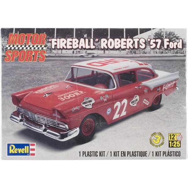 """Plastic Model Kit-'57 """"Fireball"""" Roberts Ford 1/25"""
