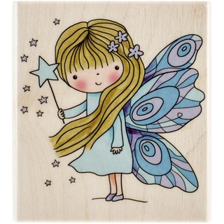 """Penny Black Mounted Rubber Stamp 3""""X3.25""""-Fairy Dust"""