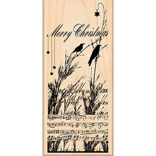 "Penny Black Mounted Rubber Stamp 2.5""X5.5""-Nature's Choir"
