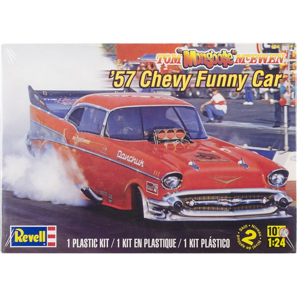 Plastic Model Kit-'57 McEwen Chevy Funny Car 1/24