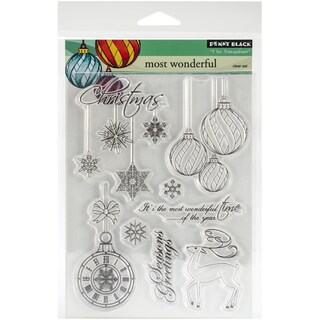 "Penny Black Clear Stamps 5""X7.5"" Sheet-Most Wonderful"
