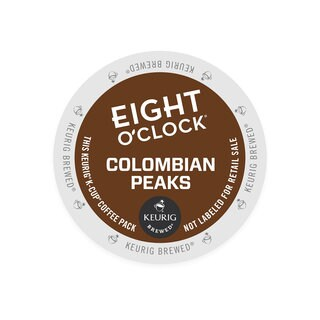 Eight O'Clock 100-percent Colombian Coffee