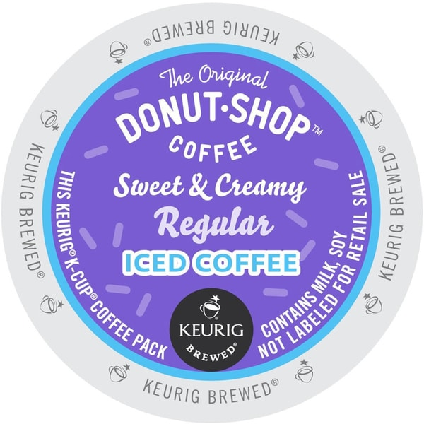 The Original Donut Shop Sweet and Ceamy Regular Iced Coffee
