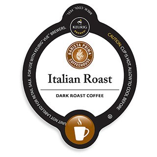 Barista Prima Coffeehouse Italian Roast, K-Cup Portion Pack for Keurig Brewers