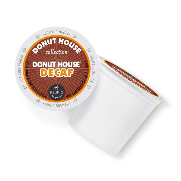 Donut House Collection Decaf Coffee K-Cups Portion Pack for Keurig Brewers 18289913
