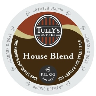 Tully's House Blend Extra Bold Coffee K-cup Portion Pack