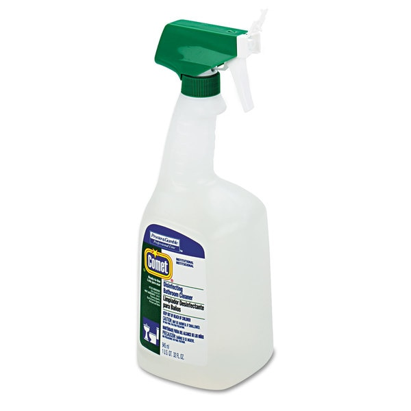 Comet Professional Disinfectant Bathroom Cleaner/ 32-ounce Trigger Bottle