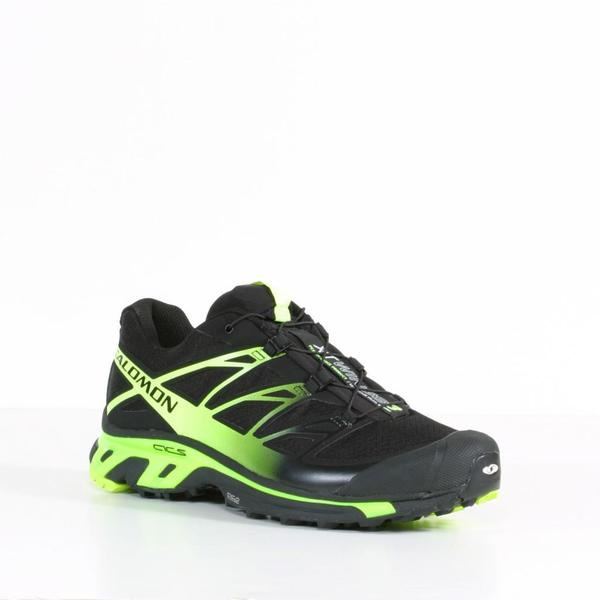 Salomon Men's Black & Flourecent Yellow XT WINGS 3