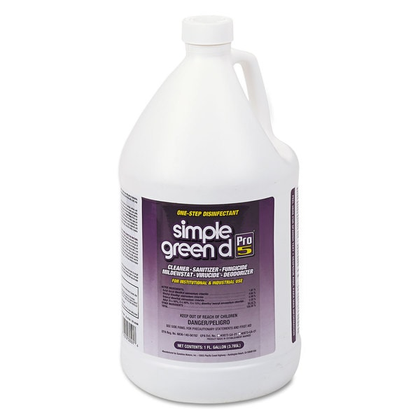 simple green Pro 5 One Step Disinfectant/ 1-gallon Bottle