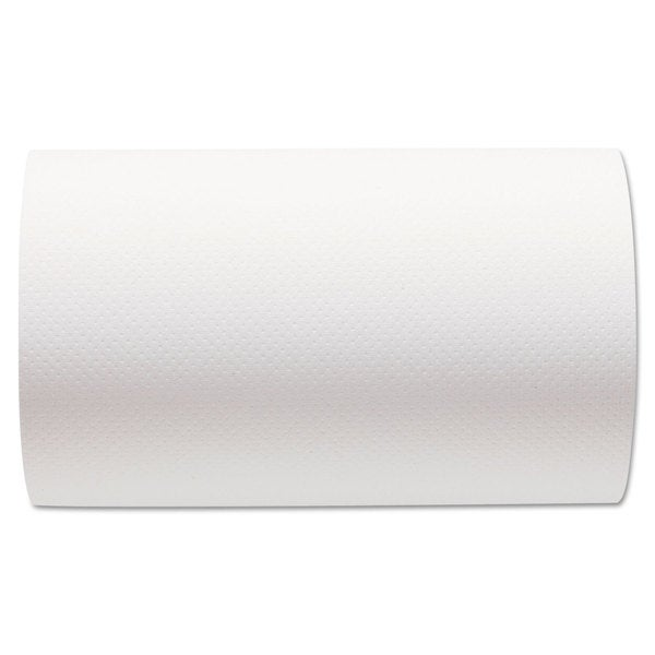 SofPull Hardwound Paper Towel Roll/ Nonperforated/ 9 x 400-foot/ White (Carton of 6)