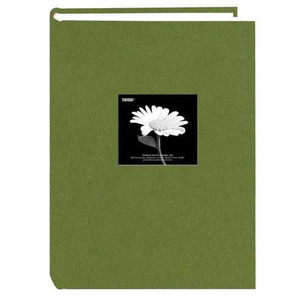 Pioneer Photo Album 300 Pocket Herbal Green Fabric Frame Cover Album