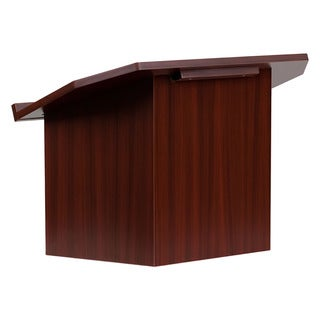 Offex Foldable Mahogany Tabletop Lectern