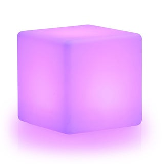 LuminArt Spectrum LED Color-changing Cube with Remote