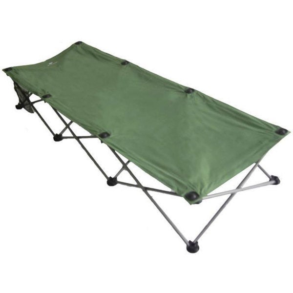 Folding Green Camping and Travel Cot