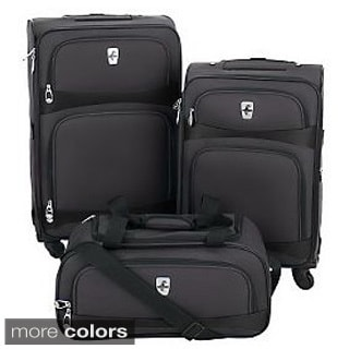 Atlantic Luggage 'Connect' 3-piece Spinner Luggage Set