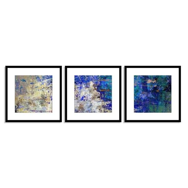 Bittedankeschon Rhythm Triptych Art