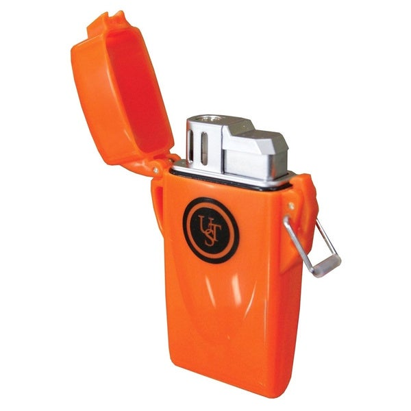 UST Orange Waterproof Floating Lighter