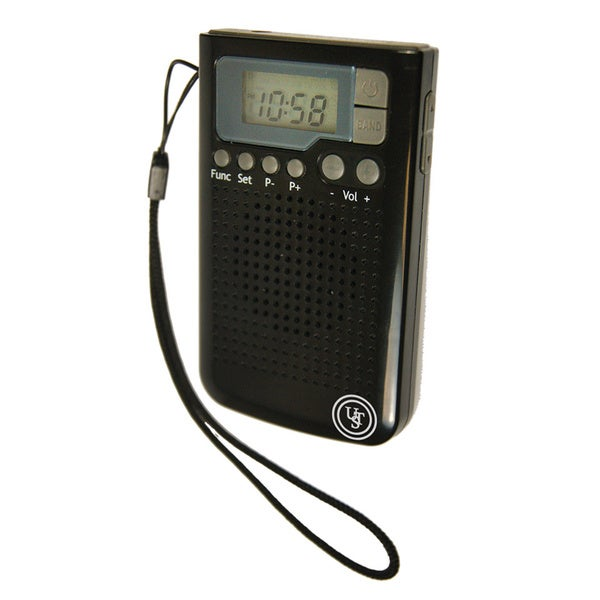 UST Weather Band AM/FM Radio Black