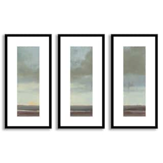 Kim Coulter's 'Viridian Sky II' Triptych Art