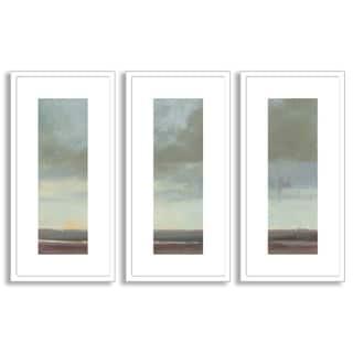 Kim Coulter's 'Viridian Sky II' Triptych Art