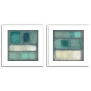 Haynes Worth's 'Illusion I' and 'II' Art Two Piece Set