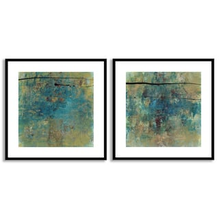 Gallery Direct Jane Bellows's 'By Chance I' and 'III' Art Two Piece Set