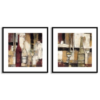 Jane Bellows's 'The Good Life III' and 'IV' Art Two Piece Set