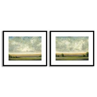 St. John's 'Good Earth I' and 'II' Art Two Piece Set