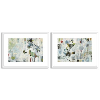 Judy Paul's 'Meander I' and 'II' Art Two Piece Set